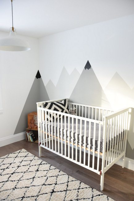 How To Paint A DIY Mountain Mural No Art Skills Required