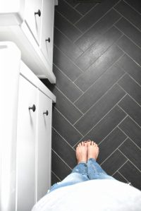 Designing a Black and White Bathroom On A Budget: A Source ...