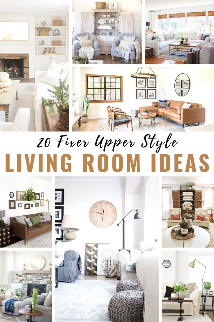 20 Beautiful Farmhouse Living Rooms The Sweetest Digs
