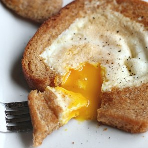 Egg-in-a-hole-bite