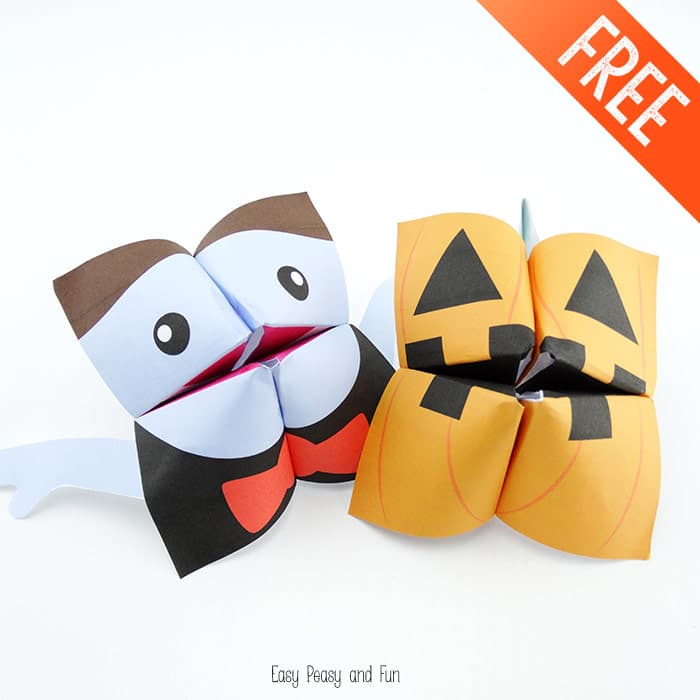 Vampire-and-Pumpkin-Halloween-Cootie-Catchers