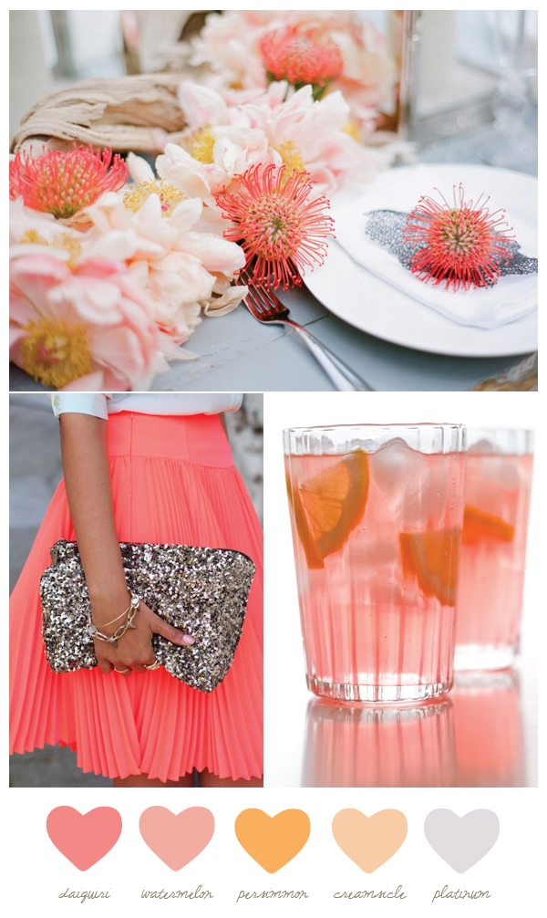 Party Palette Daiquiri  Persimmon  The Sweetest Occasion
