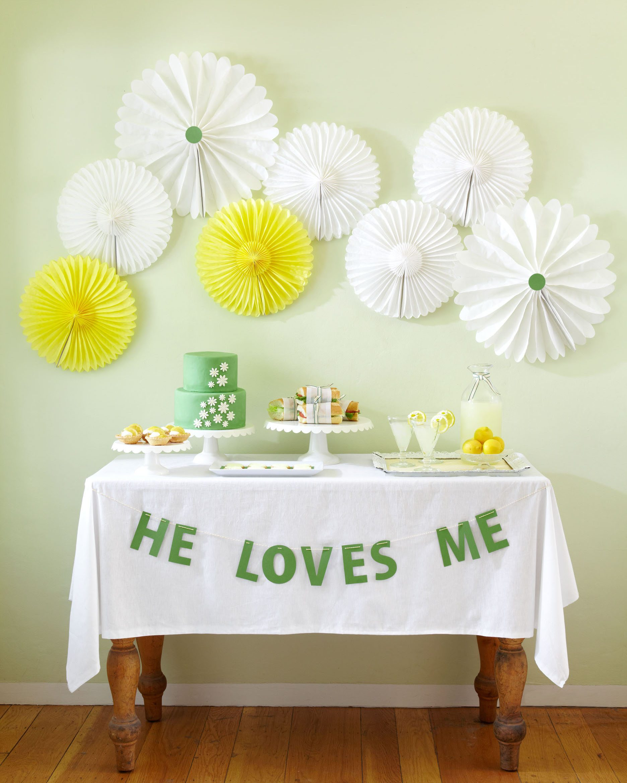Spring Bridal Shower Ideas