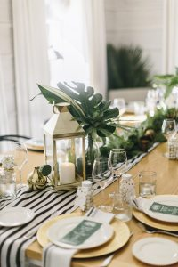 A Modern + Elegant Tropical Baby Shower - The Sweetest ...