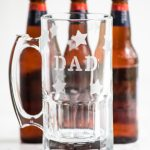 Diy Etched Beer Mugs For Dad The Sweetest Occasion