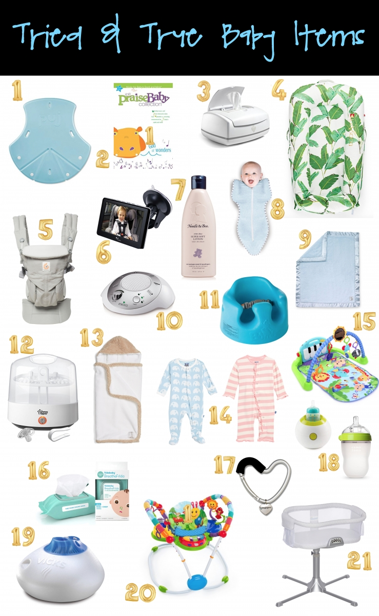Baby Items List With Pictures : items, pictures, Must-Haves, Baby's, First, Sweetest, Thing