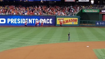 The famous Presidents Race!