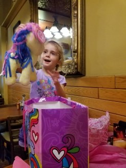 I think she loved it!