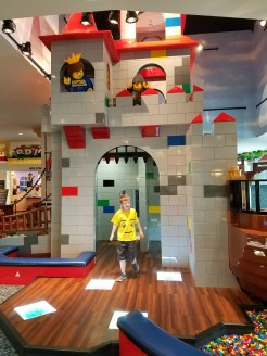 Play area in lobby