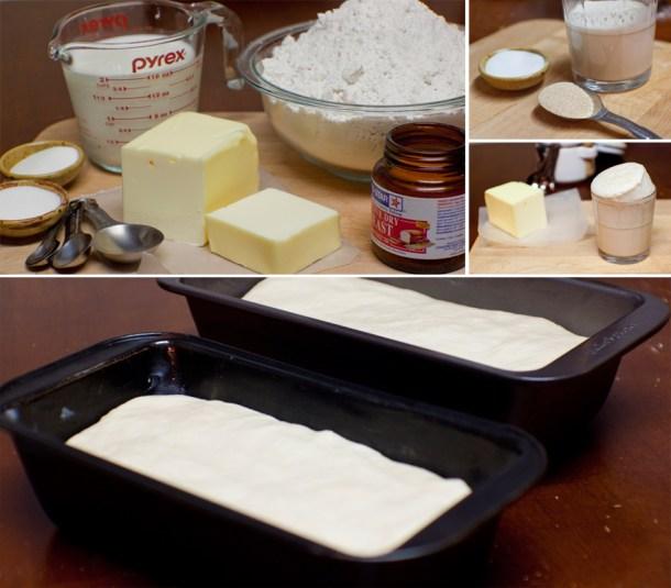 Ingredientes y procedimiento para hacer Pan de Barra Casero