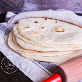 TORTILLAS DE HARINA {con video paso a paso}