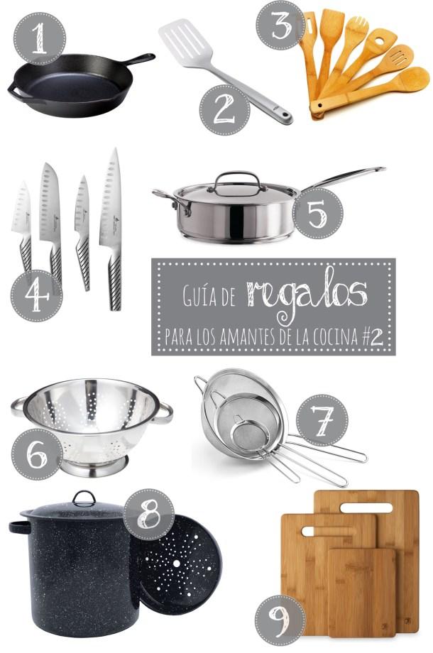Guia De Regalos Para Los Amantes de la Cocina