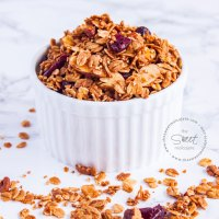 GRANOLA CASERA {con video paso a paso}