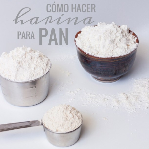 Como hacer tu propia harina para pan