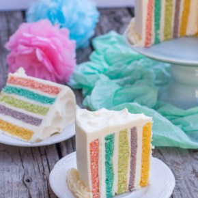 PASTEL DE ANIVERSARIO: VERTICAL LAYER CAKE