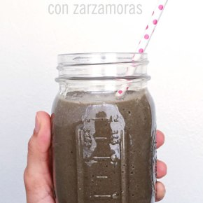 """MUDDY"" SMOOTHIE CON ZARZAMORAS"
