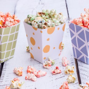 PALOMITAS DE COLORES {KETTLE CORN}
