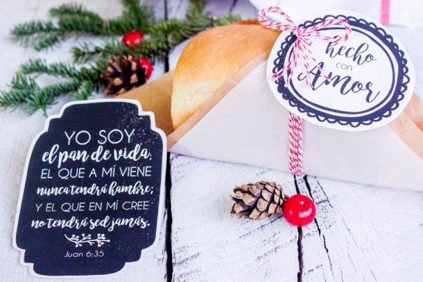 Pan Casero para regalar en Navidad #ILUMINAelMUNDO