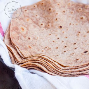 TORTILLAS DE HARINA 100% INTEGRALES
