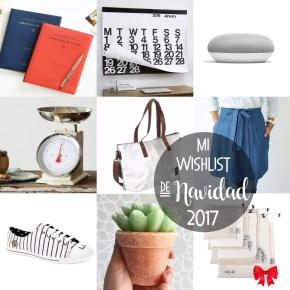 MI WISHLIST DE NAVIDAD 2017
