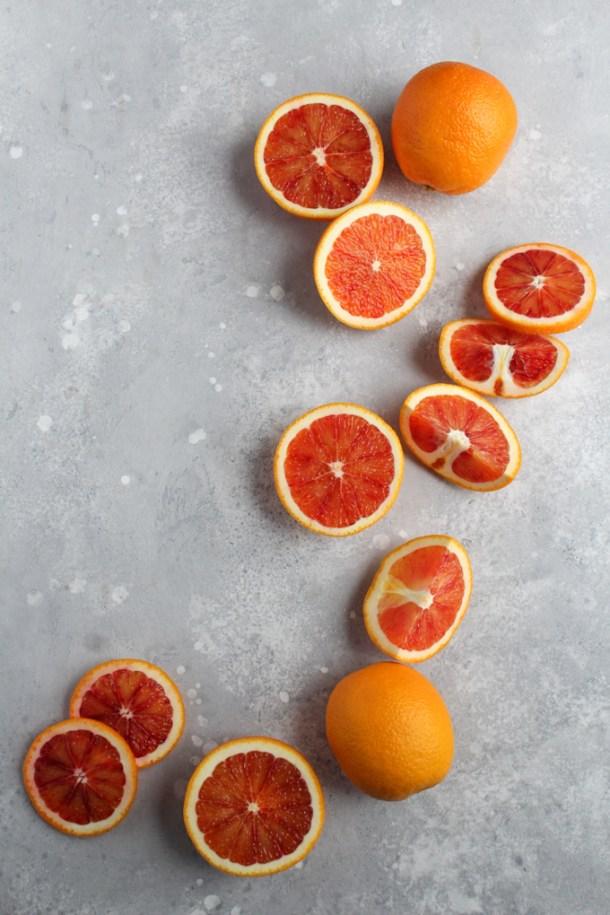 Blood Orange Panna Cotta