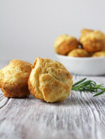 Rosemary and Gruyere Gougeres