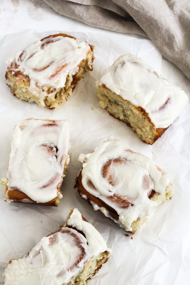 Homemade Cinnamon Rolls-5