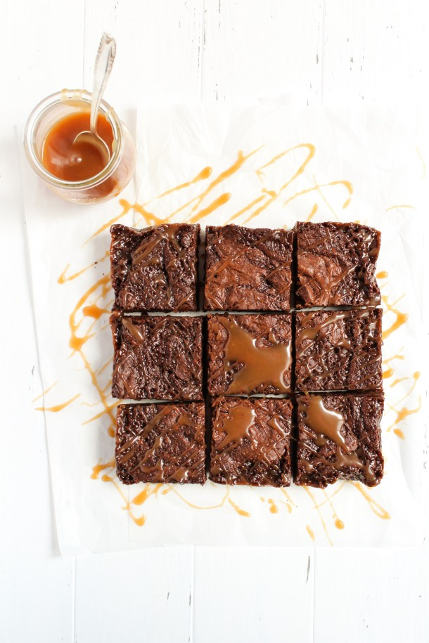 Caramel Brownies-4