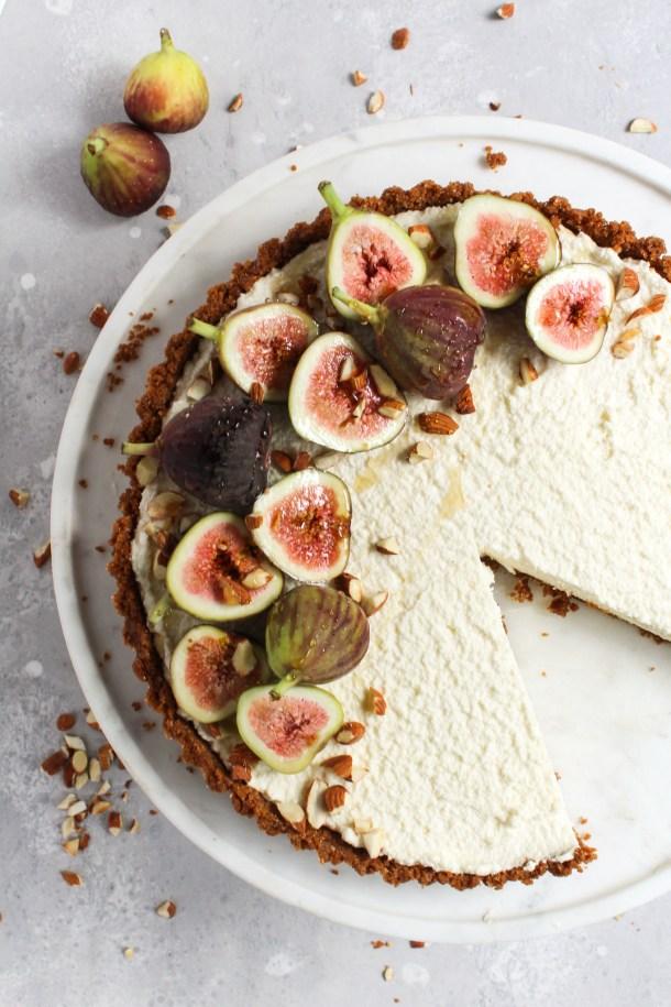Honey Mascarpone Fig Tart-8