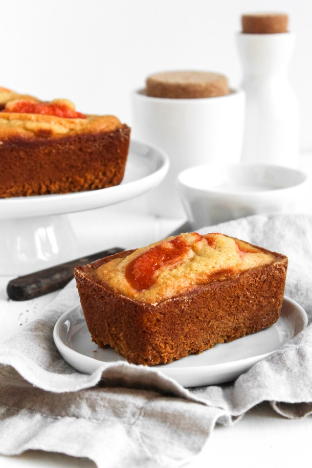 Honey Grapefruit Loaves-2