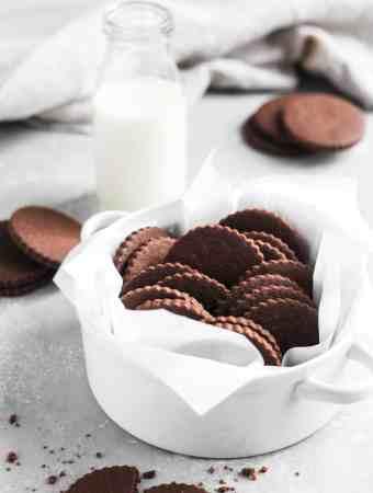 Chocolate Sugar Cookies-3