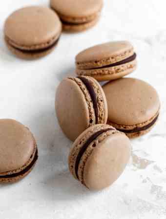 Chocolate Macarons-2