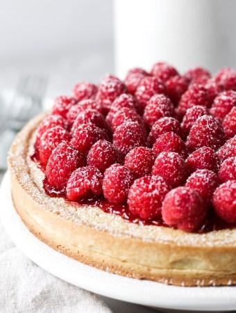 Raspberry Almond Tart-1