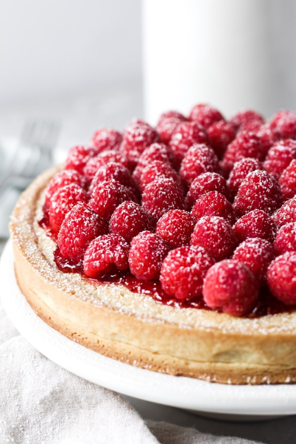Raspberry Almond Tart-1