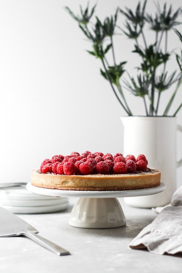 Raspberry Almond Tart-2