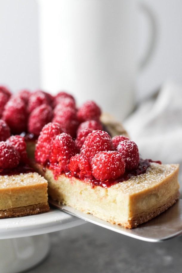 RaspberryRaspberry Almond Tart-3 Almond Tart-4