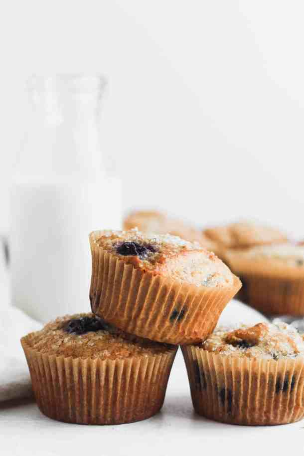 Whole Wheat Blueberry Muffins-4