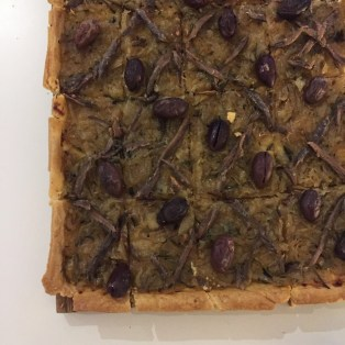 Plus one of my favourites, pissaladerie