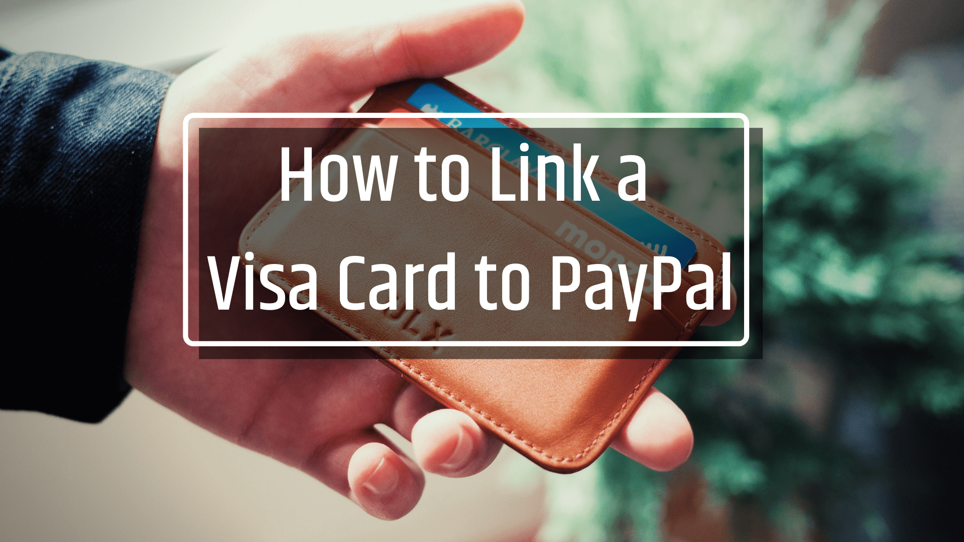 How to link CIMB Visa Card to Paypal