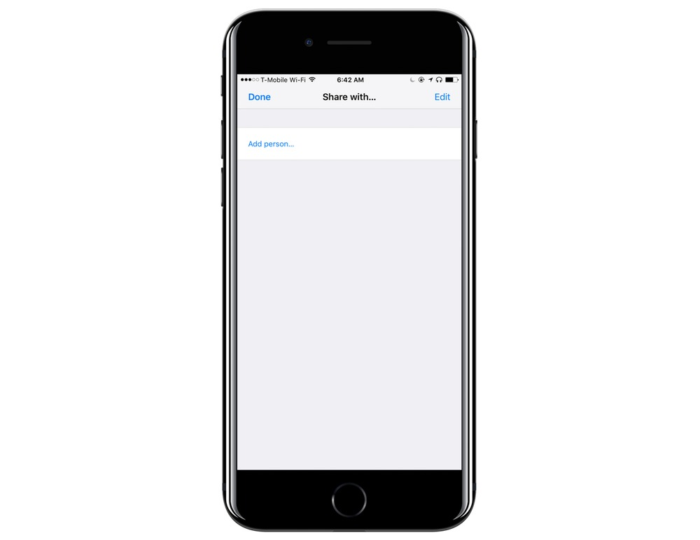 How to share a list with Apple Reminders