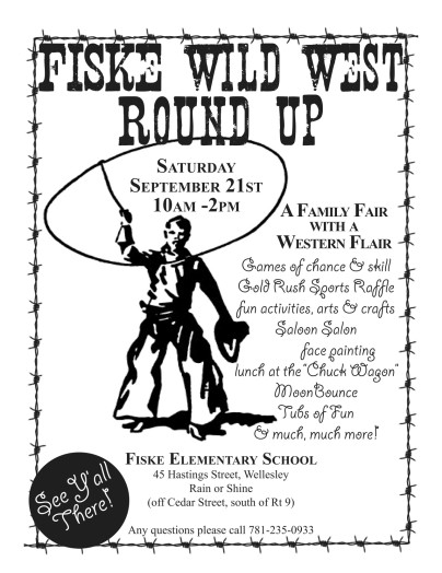 Yee-haw: Almost time for Fiske Wild West Round Up