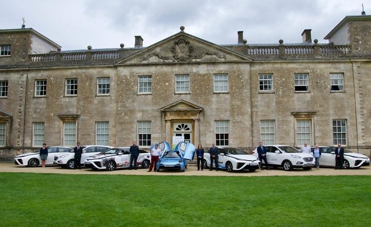 hydrogen cars at lydiard