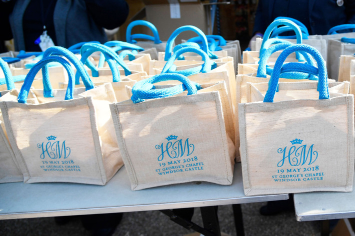 Royal Wedding Gift Bags On Ebay For 30000 The Swindonian