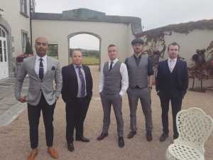 The Swing Cats performing at a wedding in Clonabreany Co. Meath