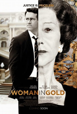 Woman in Gold new Poster