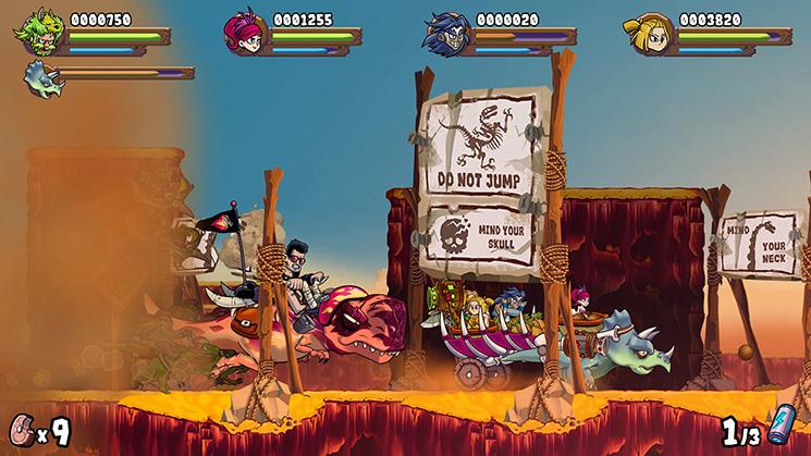 Caveman Warriors Nintendo Switch