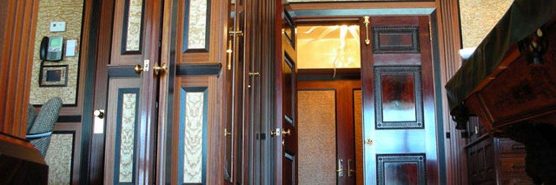 Burl Veneer Full Room Installations