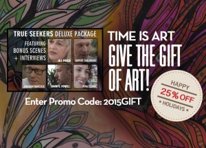 25% off Time is Art
