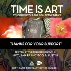 time-is-art-thankyou