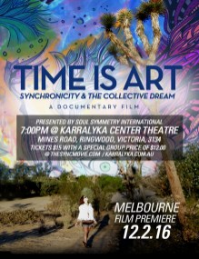 time is art, Melbourne, theater, premiere, movie